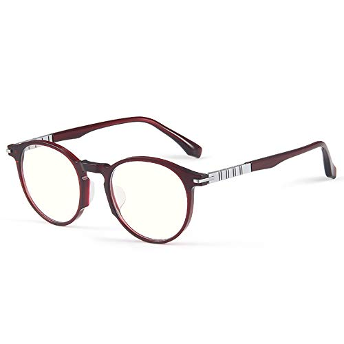 Gafas De Lectura De Alta Definición Anti Radiación De Luz Azul Para Ancianos Gafas De Lectura Ultraligeras De Moda Para Mujer Y Gafas Ópticas De Montura Completa De Titanio Puro