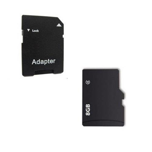 8GB Micro SD Card SDHC mit SD Adapter Card für NAVIGON 4310 MAX 4350 MAX 5110 6310 6350 LIVE 70 EASY 70 PLUS 70 LIVE 70 PREMIUM LIVE 7210 7310 8410 8410 PREMIUM LIVE EDITION 42 EASY 42 PLUS 42 PREMIUM 72 EASY 72 PLUS 72 LIVE 72 PREMIUM 92 PLUS 92 PREMIUM 92 LIVE GPS Sat Nav