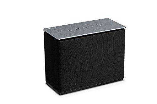 MEDION X61072 WLAN-Multiroom Lautsprecher mit 20 W RMS Ausgangsleistung, Internetradio via App und DLNA kompatibel