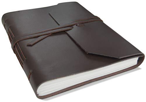 Life Arts Indra Leder Notizbuch Handgefertigt A5 (15x21cm) Tan