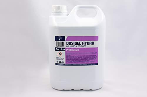 Solución Hidroalcoholica DOSIGEL HYDRO 5L (Caja 2 Garrafas)