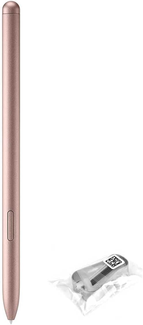 Tab S7 / S7+ S Pen Replacement S Pen for Samsung Galaxy Tab S7 / S7+ Plus / S7 FE (EJ-PT870) Stylus Pen + Tips/Nibs (Without Bluetooth) (Tab S7+/S7 Bronze)