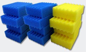 SunSun reserveonderdeel CBF-350C Bio vijverfilter complete set filtersponzen
