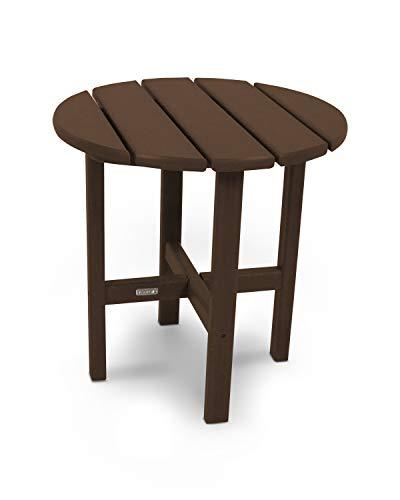 Ivy Terrace IVRT18MA Classics Round Side Table, 18-Inch, Mahogany