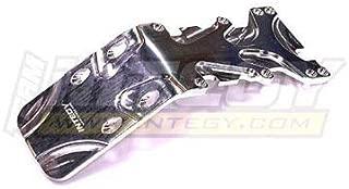 Integy RC Model Hop-ups T3034SILVER Evolution-5 Rear Skid Plate for T/E-Maxx 3903,3905,3906,3908,4907,4908,4909,4910