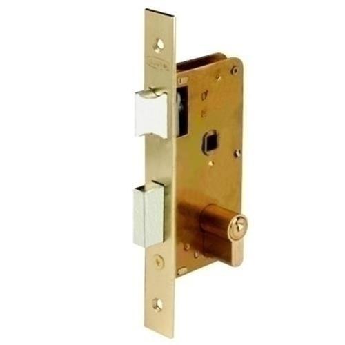 Ezcurra M29372 - Cerradura embutir hierro latonado 3100-40