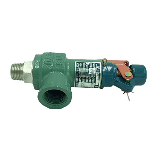 """H HILABEE Sicherheitsventil Dampfdruckbegrenzungsventil Zug Dampfmaschine Schiff DN15 1/2\"""""""
