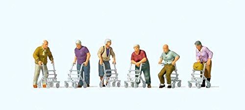 Preiser 10718 Senioren mit Rollator