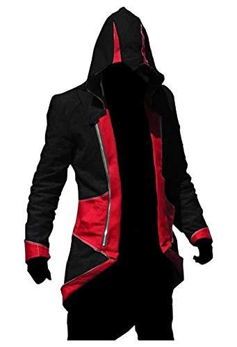 Inception Pro Infinite Veste Cosplay Déguisement - Halloween - Carnaval - Cosplay - Homme (Noir et Rouge Taille XL)