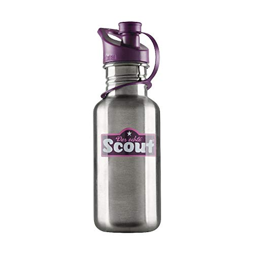 Scout Zubehör Edelstahl Trinkflasche 500 ml