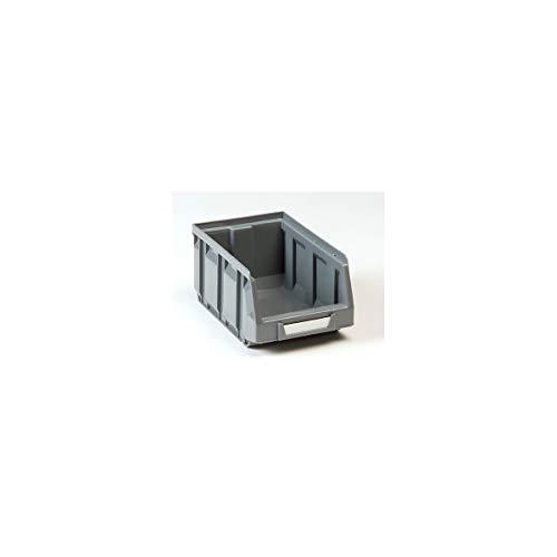 Bac à bec en polyéthylène - Lot de 48 - L x l x h 167 x 105 x 82 mm (gris)