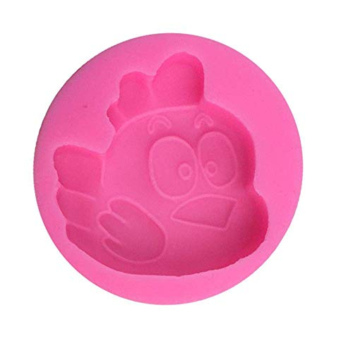 LSY Zodiaco fai-da-te Serie zodiacale di stampo in silicone a forma di pulcino Stampo per cioccolato fondente Stampo per dolci in stampi per dolci