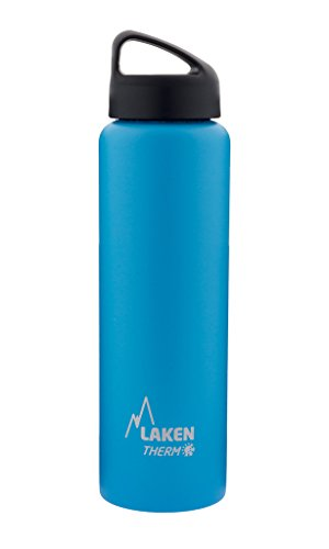 Laken HIT Thermo Vacuum Insulated Stainless Steel Kids Water Bottle # 12 Ounce
