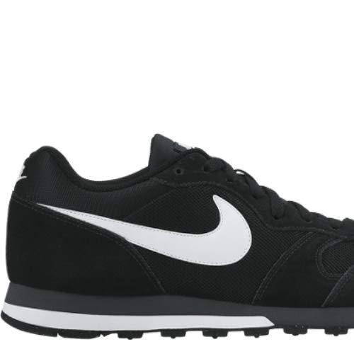 Nike MD Runner 2, Zapatillas Hombre, Negro (Black/White Anthracite), 44 EU