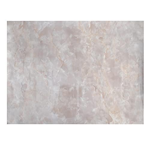 MOVKZACV Papel pintado de mármol autoadhesivo Granito pegajoso Back Plastic Roll Papel de contacto de mármol Película de vinilo para encimera de cocina Dormitorio Fondo Renovación de muebles Pegatinas