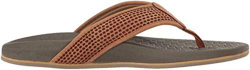 Skechers USA Men's Pelem Emiro Flat Sandal,Tan,13 M US