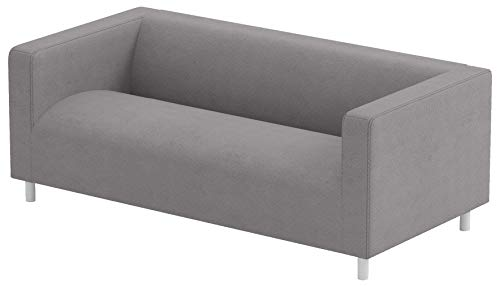 Sofa Pro The Klippan Loveseat Cover Replacement Is Custom Made For Ikea Klippan Loveseat Slipcover, A Sofa Cover Replacement. Cover Only! (Lighter Gray)