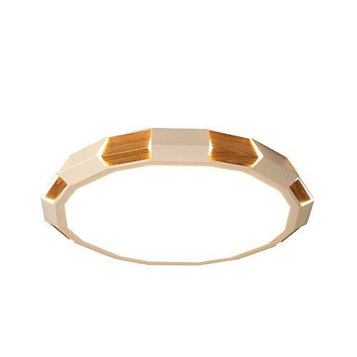 Kerr Louisa Hotel Stoff Lampen LED Deckenlampe Einfache Moderne Schlafzimmer Runde Deckenlampe Acryl mit Bohrer Versprechen Fernbedienung Arbeitszimmer Lampe