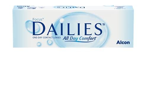 Focus Dailies All Day Comfort Tageslinsen weich, 30 Stück / BC 8.6 mm / DIA 13.8 / -3.5 Dioptrien
