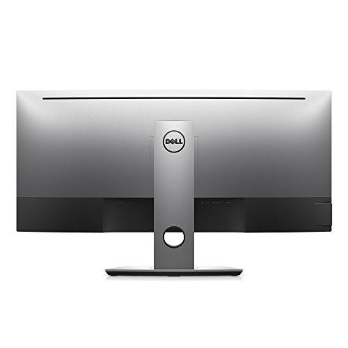 DELL U3417W 86,71 cm (34 Zoll) LED Monitor (HDMI, DisplayPort, LED, 5ms Reaktionszeit) schwarz