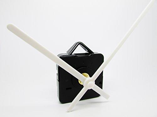 Nuevos movimiento del reloj de cuarzo mecanismo Motor yogabox y manos - - batería libre penos medio y accesorios, plástico, multicolor, 120mm White Hands