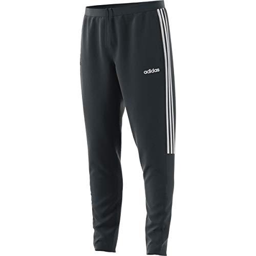 adidas Essentials Sereno Pantalón de entrenamiento para hombre - FXH30, Sereno 19 - Pantalones de entrenamiento, XXXL, Gris sólido/blanco.