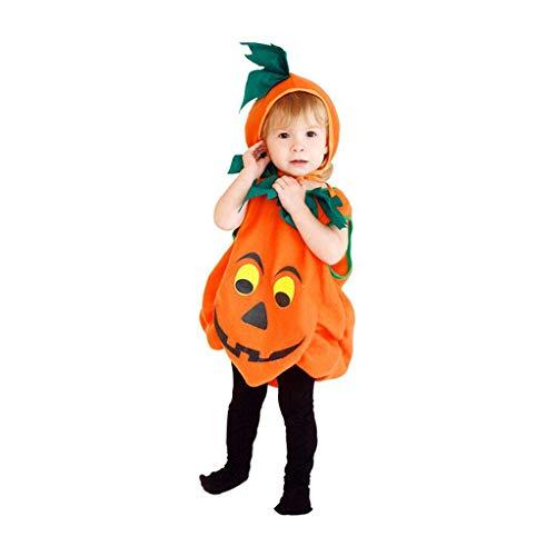 Disfraces para Niños Disfraces de Halloween para niños Ropa Infantil De Halloween Conjunto De Vestido De Calabaza Vestido De Calabaza Disfraz De Disfraces Sombrero De Calabaza For Niños