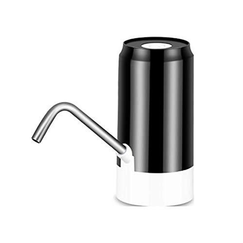yingweifeng-01 2020 Inteligente Recargable Bomba de Agua Fuente de Bebida Dispensador de Agua Hogar Automático Cubo de Bebida Bomba de dispensador Accesorio de Escape del Coche (Color : A Black)