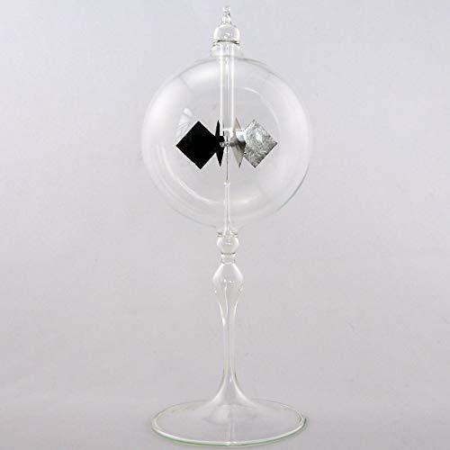 Lichtmühle Solar Radiometer 80 mm stehend Klarglas