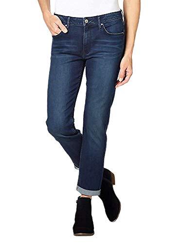 Calvin Klein Jeans Ladies' Slim Boyfriend Jean, Inkwell, Size 6