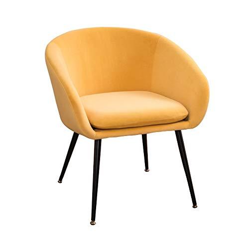 ZHEYANG Sillones Sillón Moderno Y Perezoso Simple. Habitación Individual. Habitación Linda for Niña. Balcón Mini Sofá (Opcional (Color : Yellow)