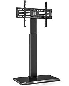 【UNIVERSELLE TV-HALTERUNG】Geeignet für 32-65 Zoll TV-Geräte, oder PC-Monitore bis zu 40kg. VESA Modelle 200*200-400*600. Kompatibel mit die meisten TV-Marken. 【HOCHWERTIGE EISENBASIS】25mm Bodenplatte aus Eisen bietet einen stabilen und dauerhaftigen ...