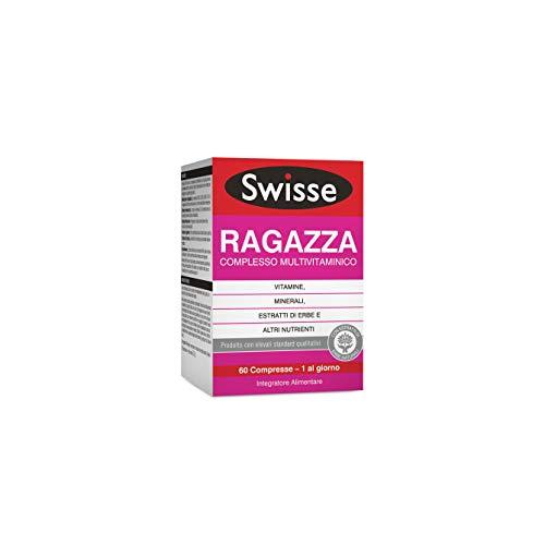 Swisse Multivitaminico Ragazza, Integratore Alimentare Multi-nutriente per Integrare la Nutrizione delle Ragazze, 60 Compresse