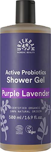 Urtekram Purple Lavender Duschgel Bio, Balance, normale bis trockene Haut, 500 ml