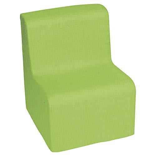 Nathan nathan372912 groene stoel lage vloer zitting