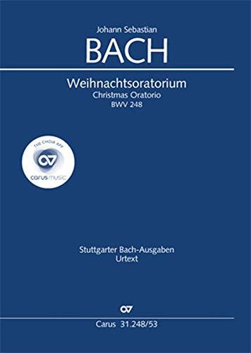 Weihnachtsoratorium (Klavierauszug deutsch/englisch): BWV 248, Teile I-VI