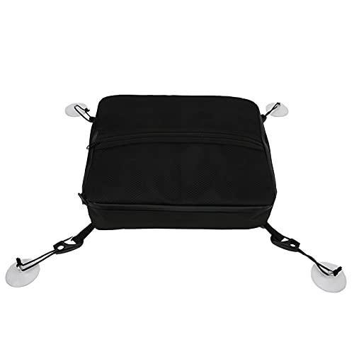 パドルボードメッシュバッグ、断熱材ブラック外側メッシュポケットパドルボードメッシュデッキバッグ、カヤック用サーフ用