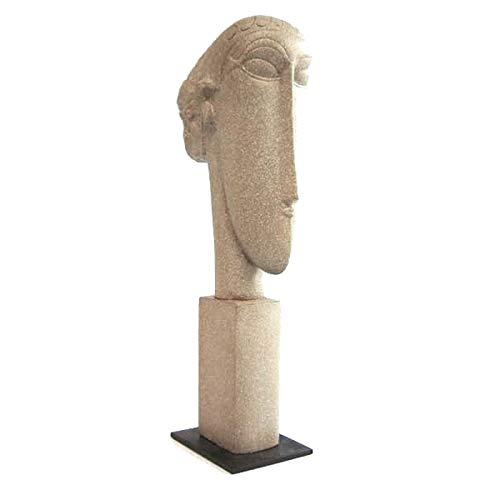 Modigliani Kopf - Museumsshop (Replikat) #06 nach Amedeo Modigliani