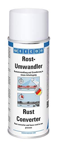 WEICON Rost-Umwandler / 400 ml / Stoppt Korrosion / Neutralisiert Rost / Innen- & Außenbereich