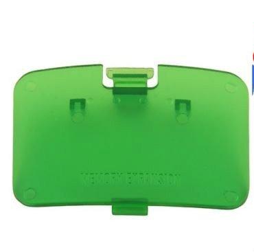 Unknown Zubehör für Videospiele New JUNGLE GREEN N64 Memory Expansion Pak Cover - Jumper Pak Deckel