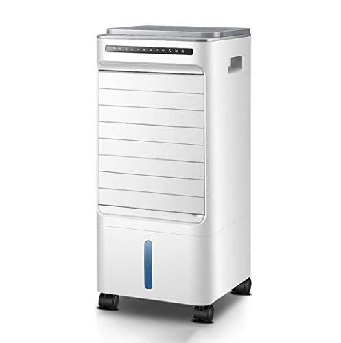 CXWJD Luchtkoeler, draagbare mobiele verdampingsairconditioning, ventilator en luchtbevochtiger afstandsbediening voor thuis, geef 2 ijszakken