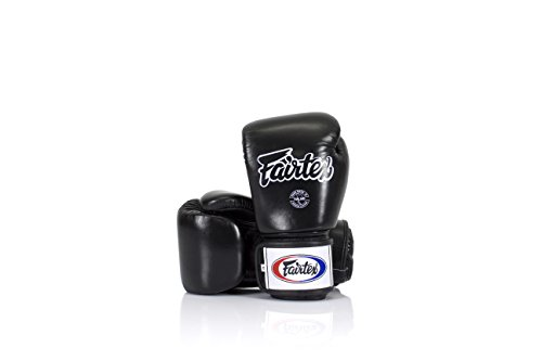 Fairtex Boxing Gloves BGV1 Color: Black Blue Red Yellow White Size : 10 12 14 16 oz. Training Sparring Gloves for Kick boxing MMA K1