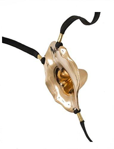 "rot M gold SYLVIE MONTHULE Schmukstring ST168 /""Masque Venezia/"" Gr"