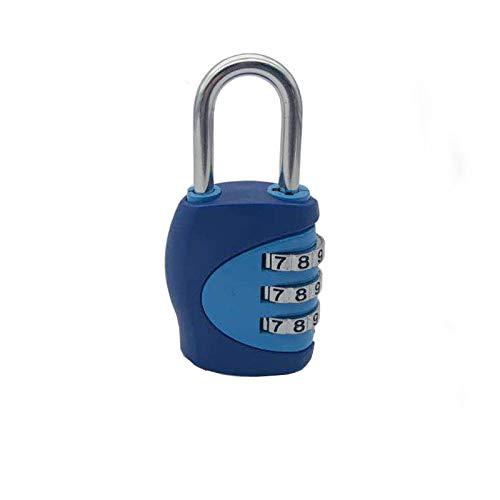 SKYLULU PasswortVorhängeschloss Der Schüler verwendet EIN Schloss, um EIN PlastikPasswortVorhängeschloss einzuwickeln, damit die Farbe Nicht herunterfällt