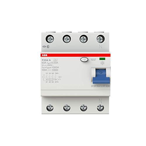 ABB FI-Schutzschalter 4-polig Typ A,