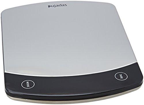 Pujadas 609200-Balance Digitale en acier-10 kg