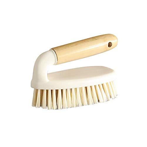 anruo Bamboe Handvat Reinigt Borstels Hand Held Huishoudelijke Reinigingsborstel Badkamer Badkuip Flow Tafel Vloer Tegel Schoenen
