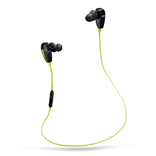 Foneso Bluetooth Kopfhörer In-Ear-Kopfhörer Sport Bluetooth 4.1 Ohrhörer für Smartphone Tablets Türkis