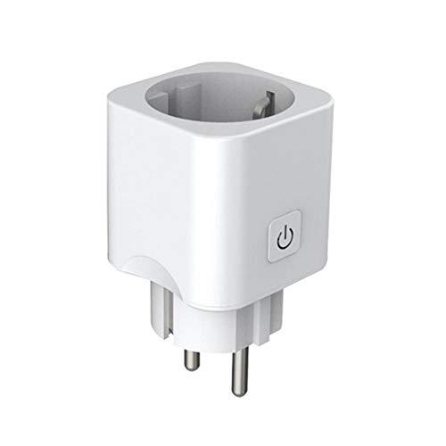 LIUQIAN Enchufe Inteligente WiFi Enchufe pequeño estándar Europeo Enchufe estándar Europeo Control de Altavoz Alexa/Google