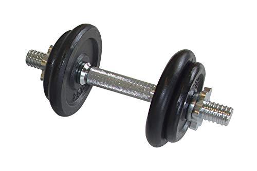 Schildkröt Kurz-Hantelset, 10,0 kg im ABS-Kunststoffkoffer, 960012